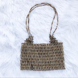 Vintage Beaded Small Handbag Bag